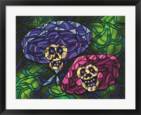 Framed Day of the Dead 4 Print