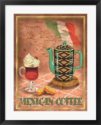 Framed Mexican Coffee Print