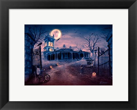 Framed Manor of Madness Print