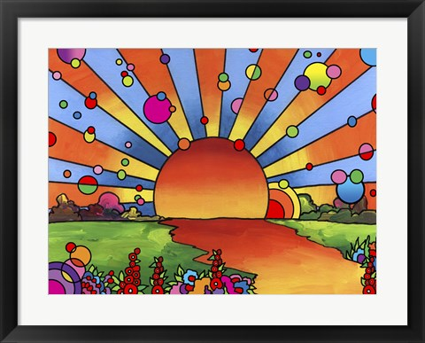 Framed 2014 Sunset Print