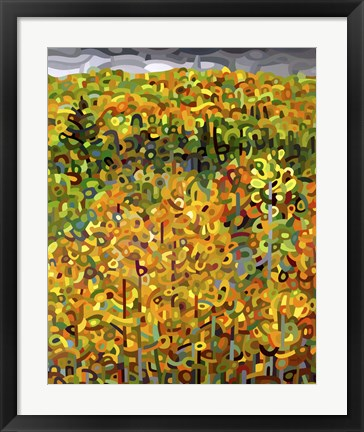 Framed Towards Autumn Print