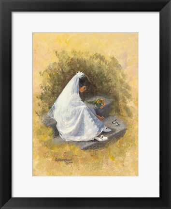 Framed First Communion 2 Print