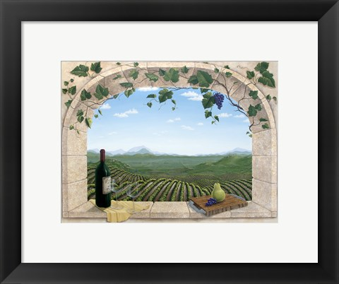 Framed To a Good Harvest Print