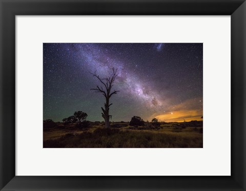 Framed Night Sky 1 Print