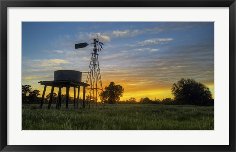 Framed On the Farm Print