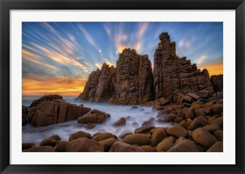 Framed Pinnacles Print