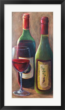 Framed Behrent Wines Print