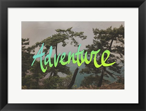 Framed Adventure (Whidbey Island) Print