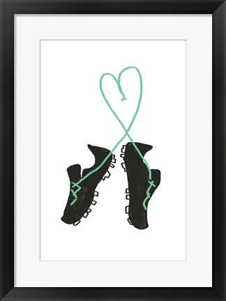 Framed Futbol Love Print