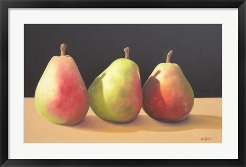Framed Pear Procession Print