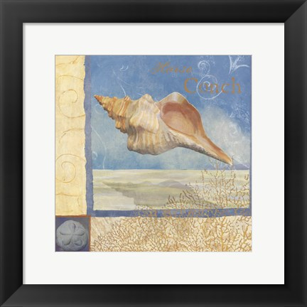 Framed Ocean Beauties III Print