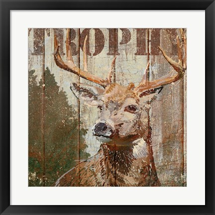 Framed Open Season Trophy Print