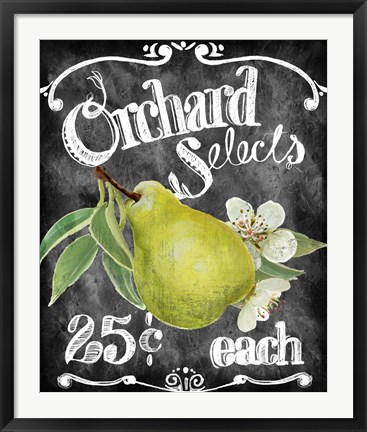 Framed Orchard Selects Print