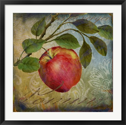Framed From The Grove Apple Print