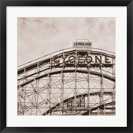 Framed Cyclone Print