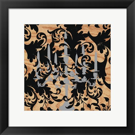 Framed Rococo Luster Print