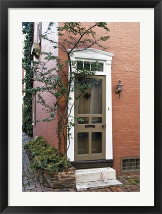 Framed Corner House Print