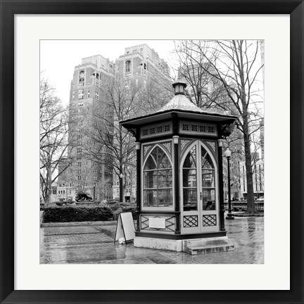 Framed Rittenhouse Square Print