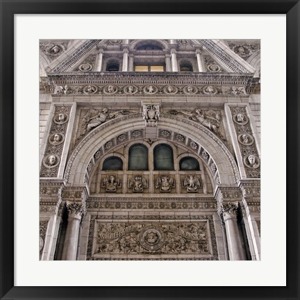 Framed Witherspoon Building II (Color) Print