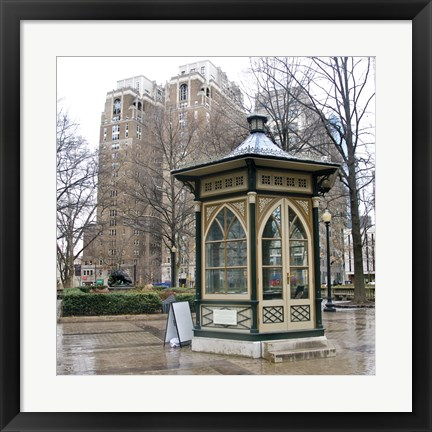 Framed Rittenhouse Square (Color) Print