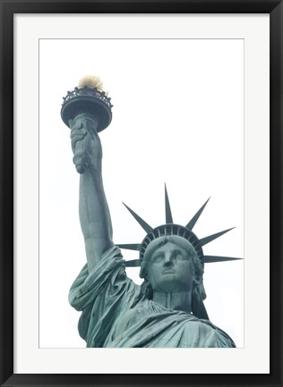 Framed Statue of Liberty Print