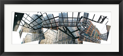 Framed Tribeca Collage Print