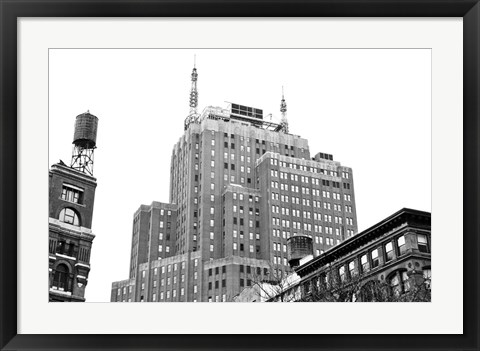 Framed Tribeca, NYC (b/w) Print