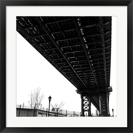 Framed Beneath the Span (detail) Print