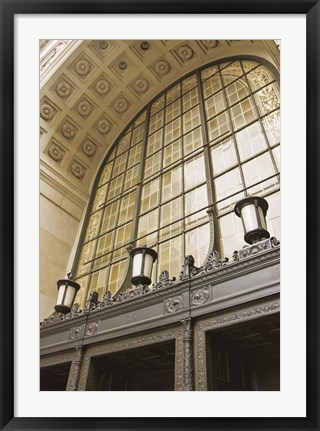 Framed Window Arch Print
