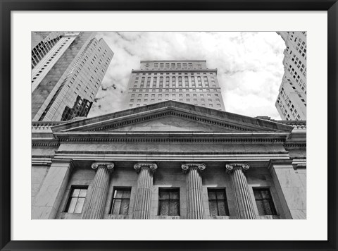 Framed Classic Architecture (b/w) Print