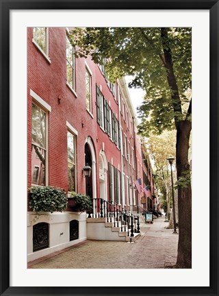 Framed Delancy Street (vertical) Print