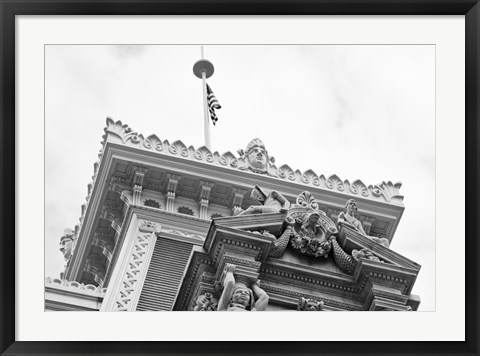 Framed At the Top (b/w) Print