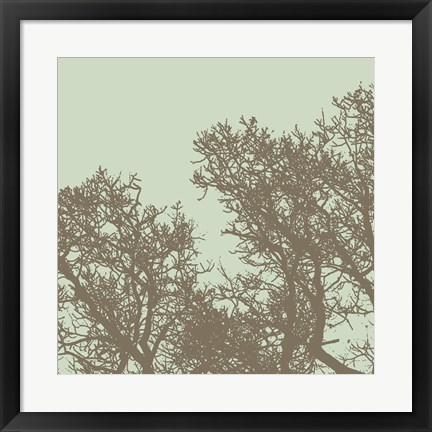 Framed Winter Tree I Print