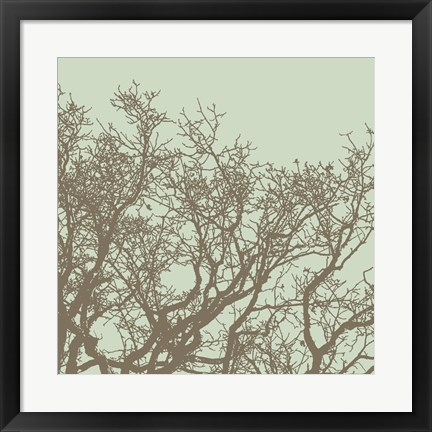 Framed Winter Tree II Print