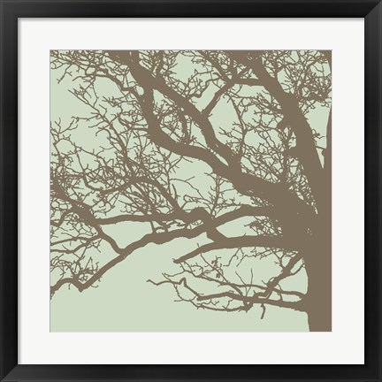 Framed Winter Tree III Print