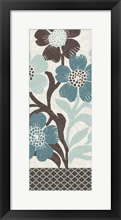 Framed Petal Decor Print