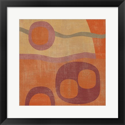 Framed Abstract III Print