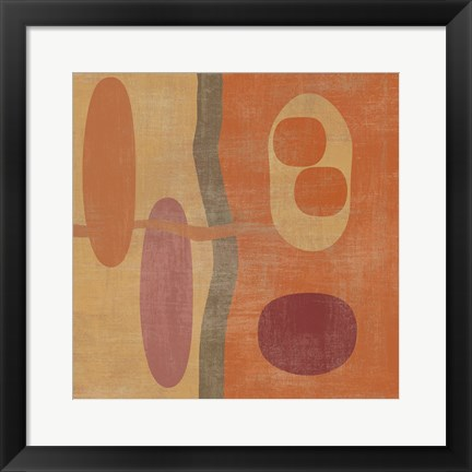Framed Abstract IV Print