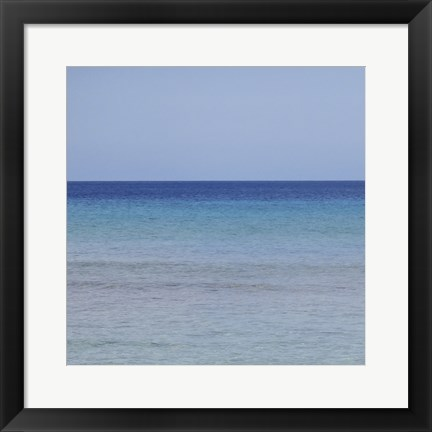 Framed Beach I Print