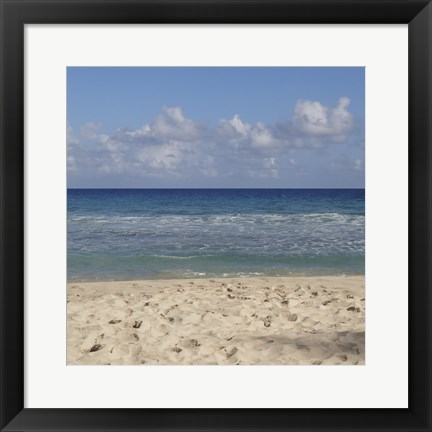Framed Beach IV Print