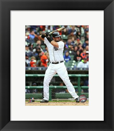 Framed Nick Castellanos 2015 Action Print