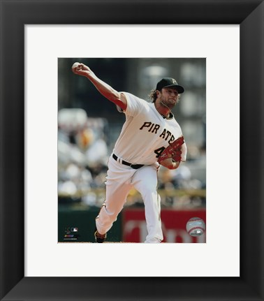 Framed Gerrit Cole 2015 Action Print