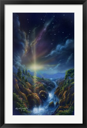 Framed Awakening at Dawn Print