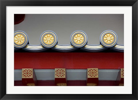 Framed Singapore, Chinatown, Buddha Tooth Relic Temple Print