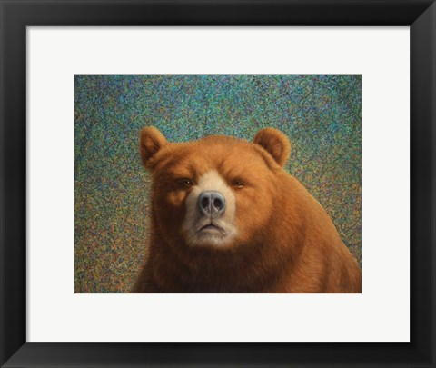 Framed Bearish Print