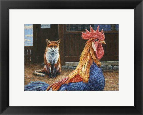 Framed Peaceful Coexistence Print