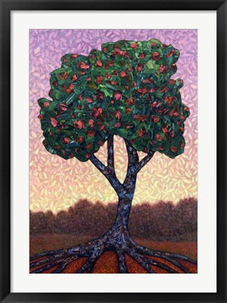 Framed Apple Tree Print