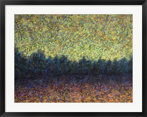 Framed Lakeshoe Sunset Print