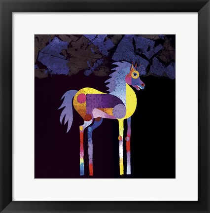 Framed Night Foal Print