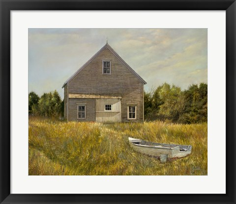 Framed Huppers Barn Print